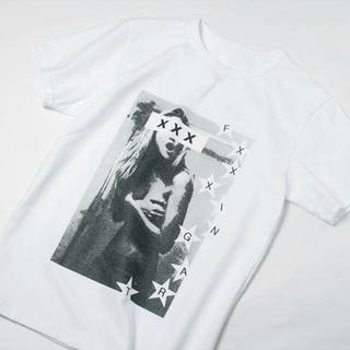 ジィヒステリックトリプルエックス(Thee Hysteric XXX)の希少新品 GOD SELECTION XXX ホワイト L(Tシャツ/カットソー(半袖/袖なし))