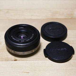 パナソニック(Panasonic)のPanasonic LUMIX 20mm F1.7(レンズ(単焦点))