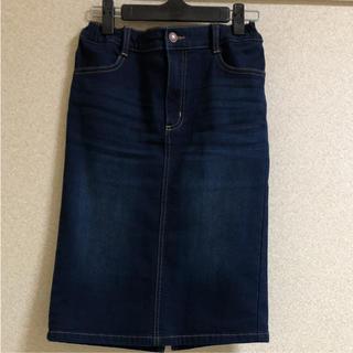 ジーユー(GU)の◆GU ◆デニムスカート 150(スカート)