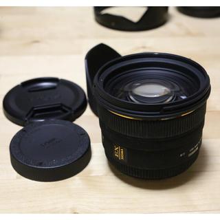 シグマ(SIGMA)のSIGMA 50mm F1.4 EX DG HSM for CANON(レンズ(単焦点))