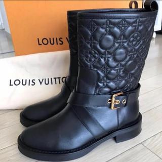 ルイヴィトン(LOUIS VUITTON)の【未使用】ルイ・ヴィトンLouis Vuittonショートブーツ(ブーツ)