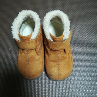 ムジルシリョウヒン(MUJI (無印良品))の無印 ムートンブーツ 14cm(ブーツ)
