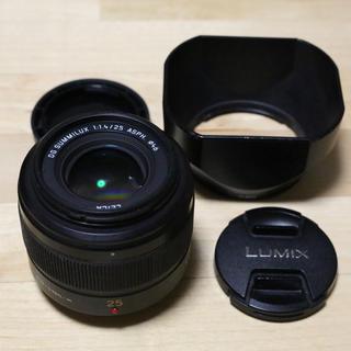 パナソニック(Panasonic)のPanasonic LEICA DG SUMMILUX 25mm/F1.4(レンズ(単焦点))