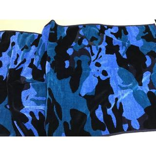ハイドロゲン × フェイラー ★限定camouflage×skull バスタオル