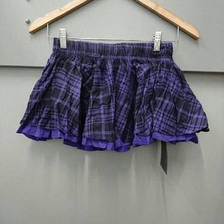 メゾンギルフィー(MAISON GILFY)のGILFY☆チェック柄フレアスカート(ミニスカート)