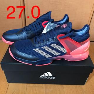 アディダス(adidas)のアディダス テニスシューズ アディゼロ ウーバーソニック 27.0(シューズ)