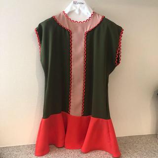 レッドヴァレンティノ(RED VALENTINO)のレッドヴァレンティノ ワンピース クリスマス 新品 セール valentino(ミニワンピース)