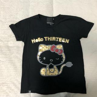 サーティンジャパン(THIRTEEN JAPAN)のTHIRTEENJAPAN キティーコラボ(Tシャツ(半袖/袖なし))