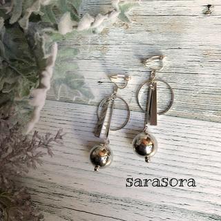 331 silver earrings earrings ピアスORイヤリング(ピアス)