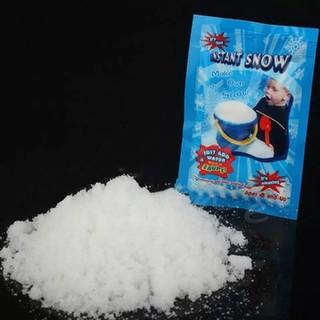 雪のパウダー 10g × 2 ☆ 水を加えるだけ♪(模型製作用品)