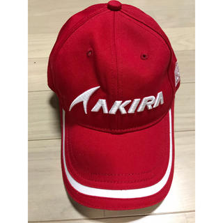 アキラプロダクツ(AKIRA PRODUCTS)の貴重 AKIRA ゴルフキャップ 未使用(キャップ)