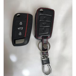 フォルクスワーゲン(Volkswagen)のここちむ様専用☆ホルクスワーゲン  キーケース カバー(車外アクセサリ)