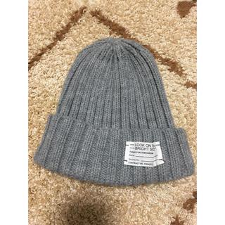 ジーユー(GU)のGUニット帽子(ニット帽/ビーニー)
