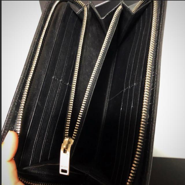 Saint Laurent(サンローラン)のサンローラン  クロコ型  長財布 メンズのファッション小物(長財布)の商品写真