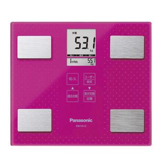 パナソニック(Panasonic)のパナソニック 体重・体組成計 ビビッドピンク EW-FA13-VP(体重計/体脂肪計)