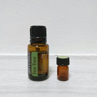 ドテラ 小分け ティートリー2ml(40滴) エッセンシャルオイル 携帯用(エッセンシャルオイル(精油))