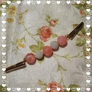 便利なクリップ☆ピンクオレンジとブルー2点(スカーフ)