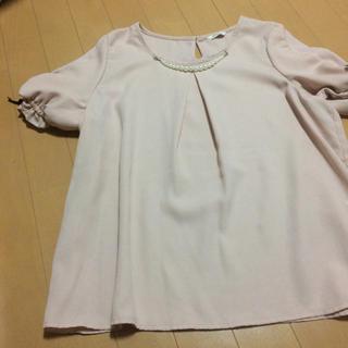 しまむら - ピンク 半袖トップス
