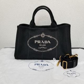 e85007bbde0a プラダ(PRADA)のプラダ カナパ トートバッグ Mサイズ 2way 黒(トートバッグ