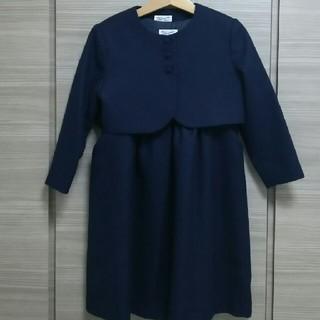 ギンザノサエグサ(SAYEGUSA)の美品!サエグサのアンサンブル 5  110☆フォーマルお受験ワンピースファミリア(ドレス/フォーマル)