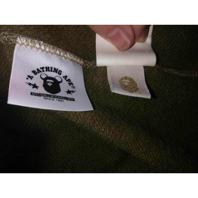A BATHING APE(アベイシングエイプ)のa bathing ape シャークパーカー ベアブリックコラボ メンズのトップス(パーカー)の商品写真