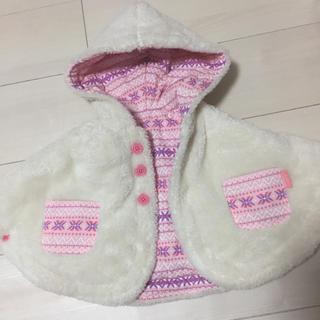 ブリーズ(BREEZE)の子供服 babybreeze ポンチョ リバーシブル(ジャケット/コート)