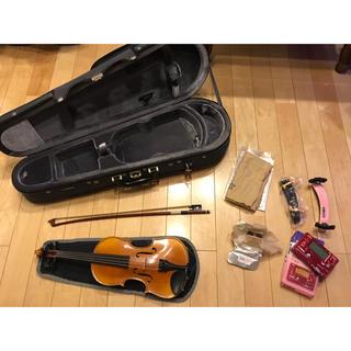ヤマハ(ヤマハ)のヤマハ YAMAHA V7G 1/8 ヴァイオリン 美品 弓の毛 弦 交換済(ヴァイオリン)