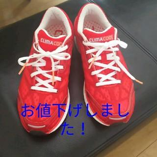 アディダス(adidas)のアディダス スニーカー CLIMACOOL 23.5㎝(スニーカー)