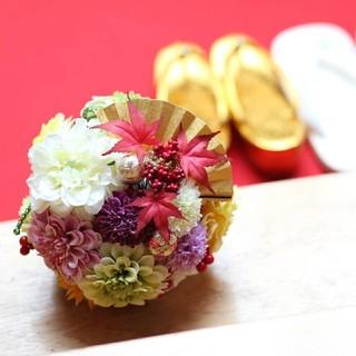 ボールブーケ (造花)(ブーケ)