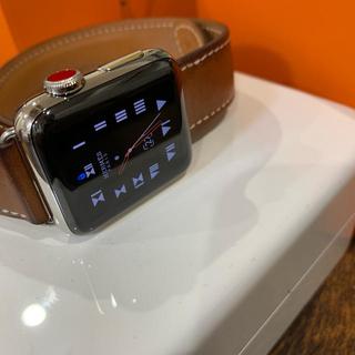 アップルウォッチ(Apple Watch)のApple Watch3 HERMES(腕時計(デジタル))