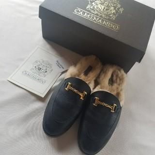 ドゥーズィエムクラス(DEUXIEME CLASSE)の2017aw ドゥーズィエムクラス カミナンド ファーローファー(ローファー/革靴)