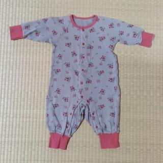 コンビミニ(Combi mini)のCombi mini ベビーカバーオール 長袖 サイズ80cm (カバーオール)