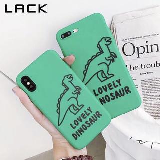 (iPhoneXケース)恐竜デザイン(iPhoneケース)