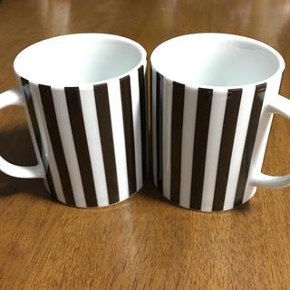 フランフラン(Francfranc)の【新品、未使用】ペアマグカップ(マグカップ)