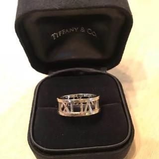 ティファニー(Tiffany & Co.)のティファニー アトラス シルバー 750(リング(指輪))