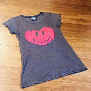 ジャンクフード(JUNK FOOD)のジャンクフード ブラック ハート  Tシャツ(Tシャツ(半袖/袖なし))