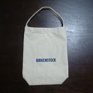 ビルケンシュトック(BIRKENSTOCK)のビルケンシュトックオリジナルコットントートバッグ 未使用新品 汚れ傷なし(エコバッグ)