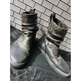 ルグランブルー(LGB)の14th addiction クロコダイル エンジニア ブーツ 42 kmrii(ブーツ)