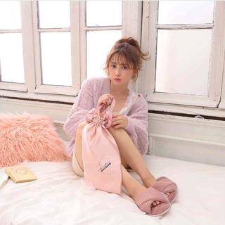 ワンアフターアナザーナイスクラップ(one after another NICE CLAUP)のfur slippers(スリッパ/ルームシューズ)