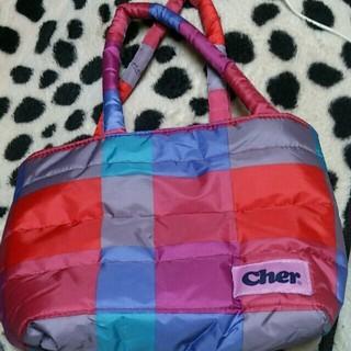 シェル(Cher)のふわもこトート(トートバッグ)