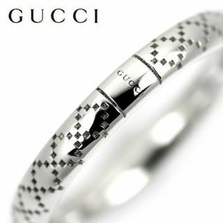 グッチ(Gucci)のグッチリングk18WGリング(リング(指輪))