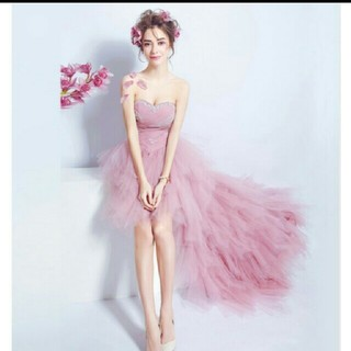 二次会ドレス カラードレス(ウェディングドレス)