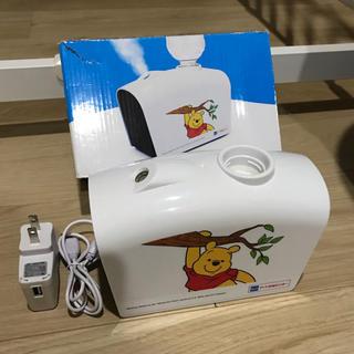ディズニー(Disney)の美品✨プーさん加湿器✨非売品(加湿器/除湿機)