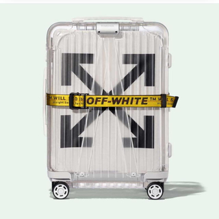 オフホワイト(OFF-WHITE)のoff-white carry-on  Rimowa suitcases(トラベルバッグ/スーツケース)