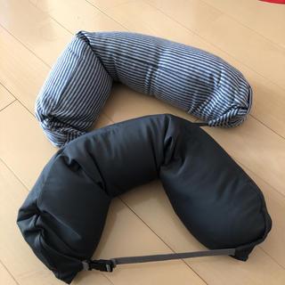 ムジルシリョウヒン(MUJI (無印良品))の無印 携帯枕 2個(枕)