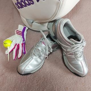 アディダス(adidas)の【adidas】レディースゴルフシューズ&グローブ(シューズ)