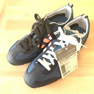 アディダス(adidas)のつかさ様【新品】adidas neo スニーカー 24.5/ネイビー(スニーカー)