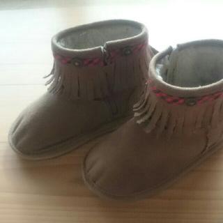 ファミリア(familiar)のはな様専用   ファミリア ブーツ サイズ17センチ  (ブーツ)