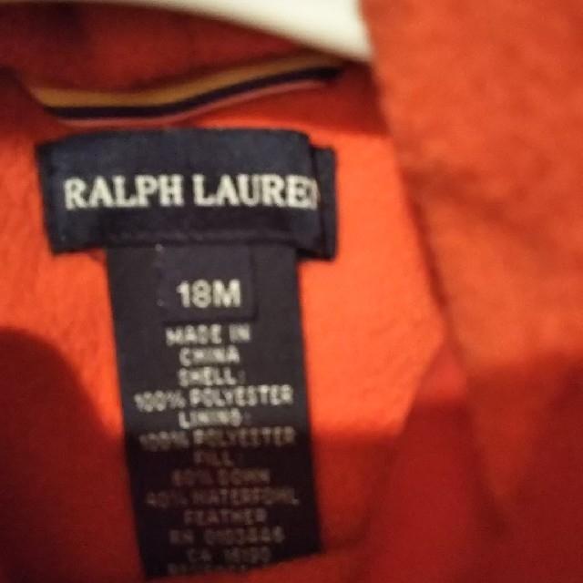 Ralph Lauren(ラルフローレン)の美品 RALPH LAUREN カバーオール 18M キッズ/ベビー/マタニティのベビー服(~85cm)(カバーオール)の商品写真