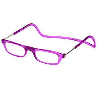 クリックリーダー(Clic Readers)のクリックリーダー老眼鏡. +2.00  パープル(サングラス/メガネ)